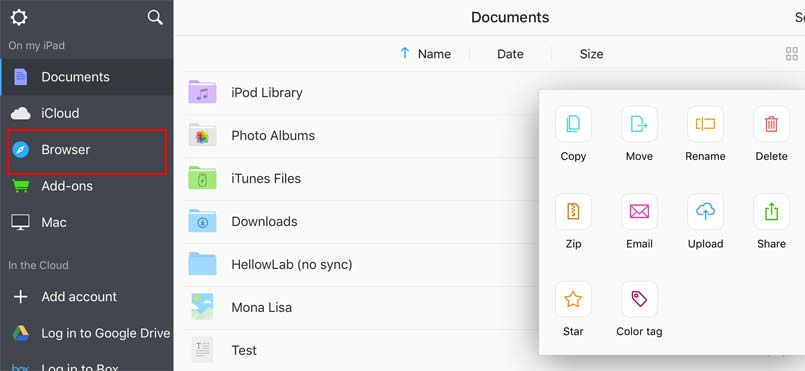 document 6 browser