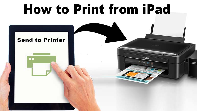 print wirelessly from ipad